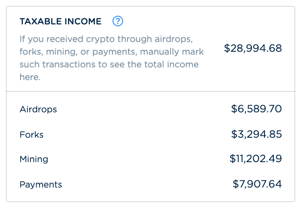 reporting cryptocurrency gains on tax form