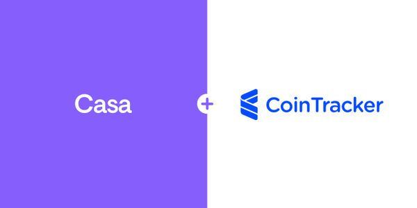 CoinTracker Partners with Casa
